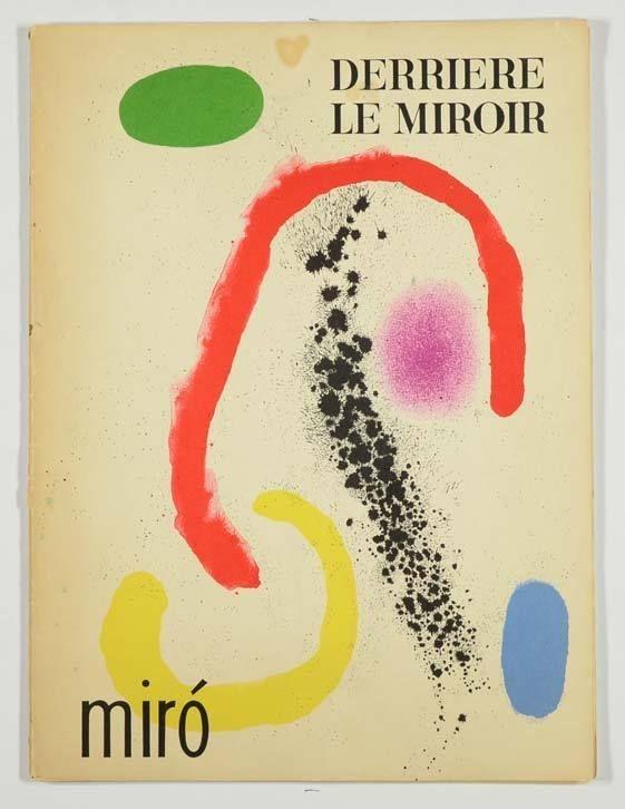 Derriere le Miroir (DLM) No. 125-126, Joan Miro Lithograph