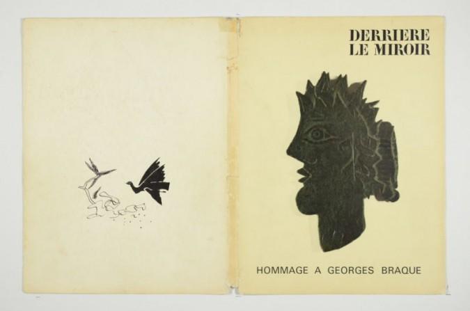 Derrière le Miroir 144-145-146 Hommage à Georges Braque