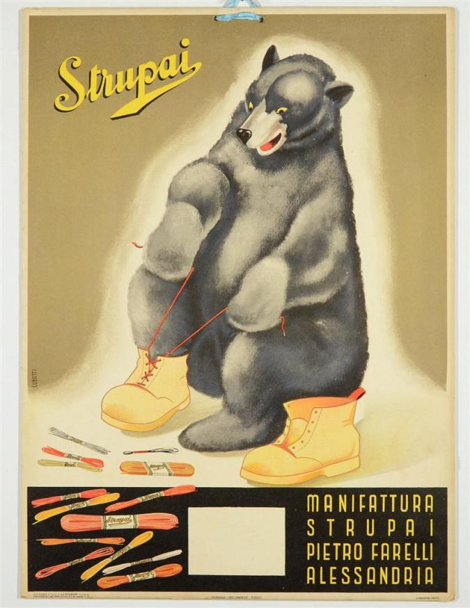 Vintage Poster STRUPAI LUBATTI GIORDANA