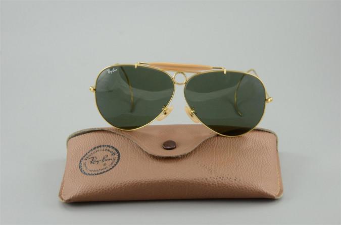 Original Vintage Aviator Sunglasses Ray-Ban 1980s