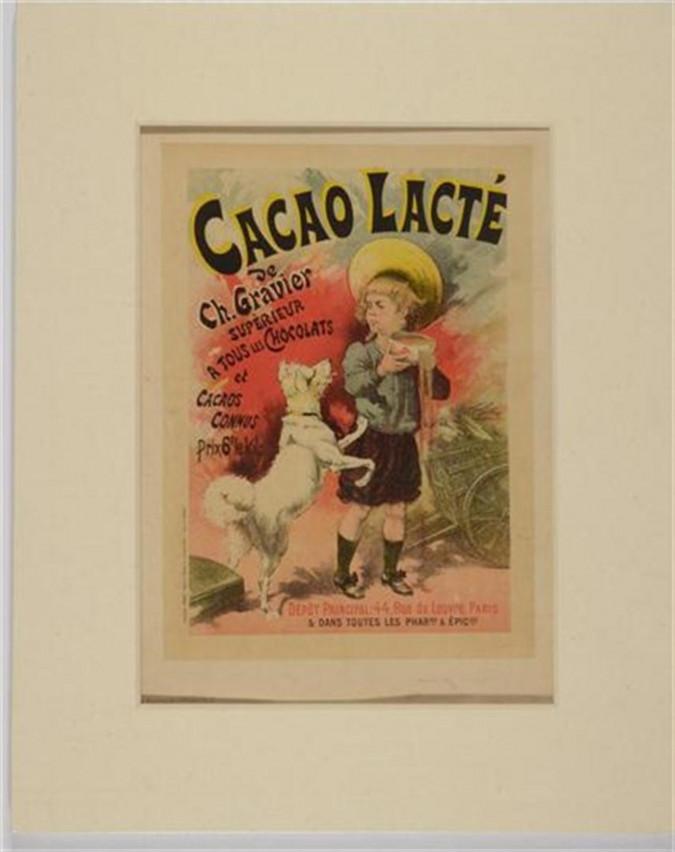 """Original Vintage French Lithograph """"Les Maîtres de l'Affiche"""" by L. Lefevre 1893"""