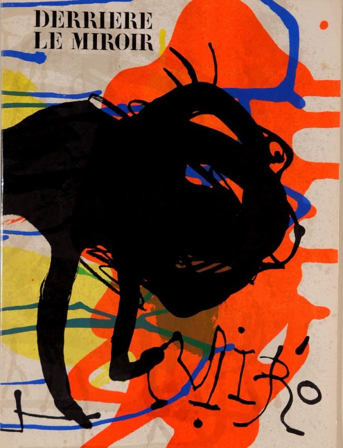 Derriere le Miroir (DLM) # 203 April 1973-3 Lithograps, Cover plus 2 Double Page