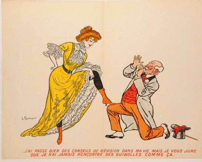 """Original Vintage French Poster """"Jamais Comme Ça""""  by L. Charbonnier ca. 1900"""