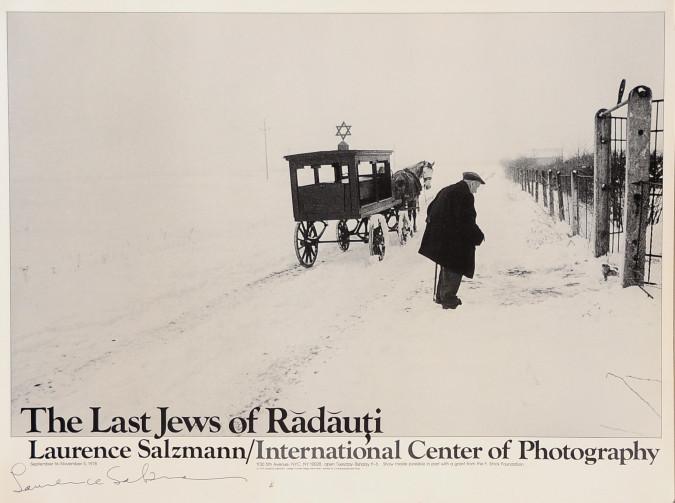 "Original Poster ""The last Jews of Radauti"" signed by Laurence Sallzmann"