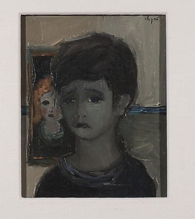 "Original Extremely Rare Acrylic Painting by Itzhak Tarkay ""My Family""  1960's"