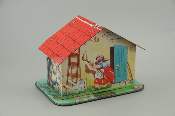 Little Red Cap - Little Red Riding Hood Vintage Money Bank