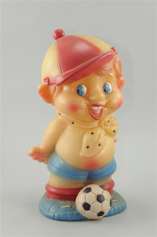Vintage Disney Character Boy Scout Rubber Doll Toy Figure