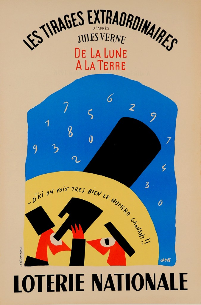 "Original Advertising Poster ""Loterie Nationale"" by Grove"