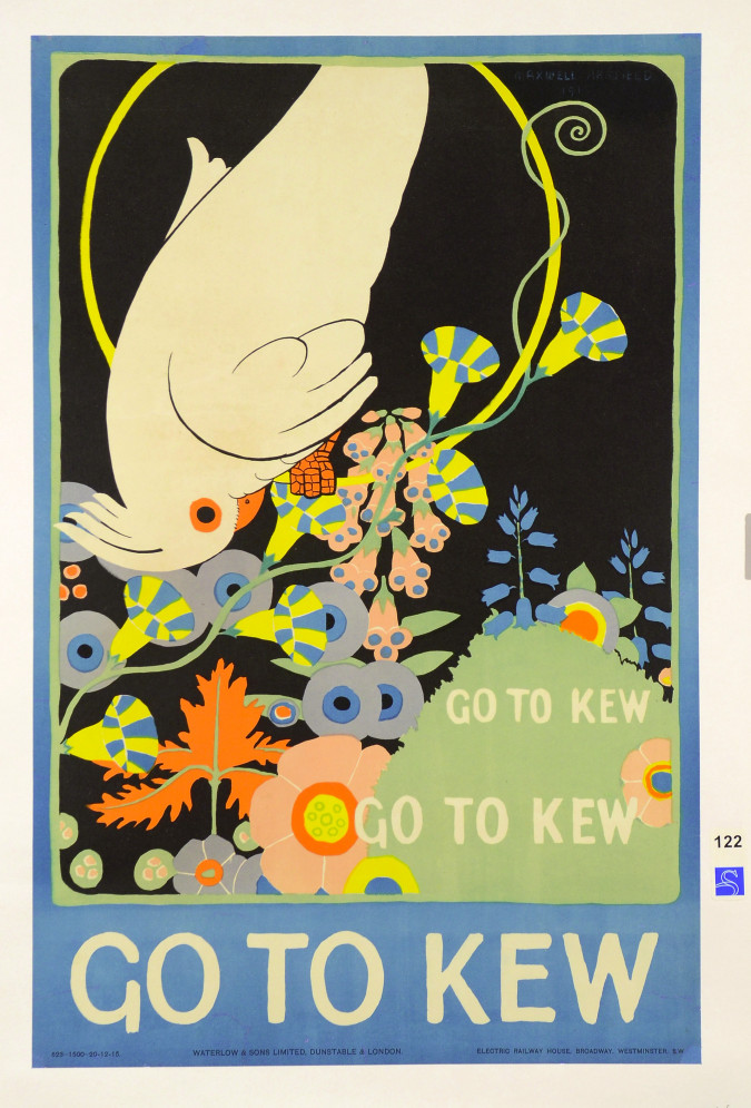 """English Poster """"Go To KEW"""" by Armfield 1915"""