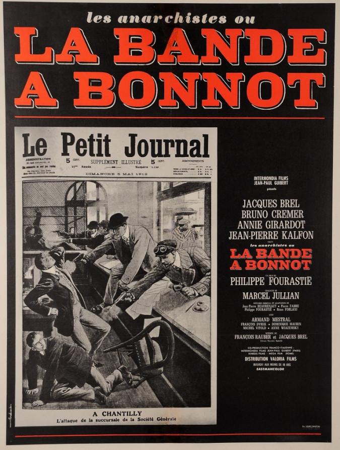 "French Vintage French Anarchist ""The Bonnot Gang"" (La Bande à Bonnot)"