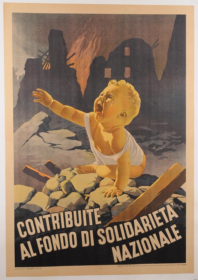 WWII Italian Propaganda Poster