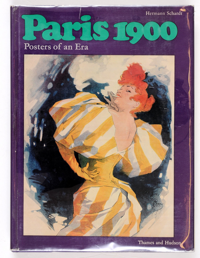 Paris 1900 - Posters of an Era by Herman Schardt 1970