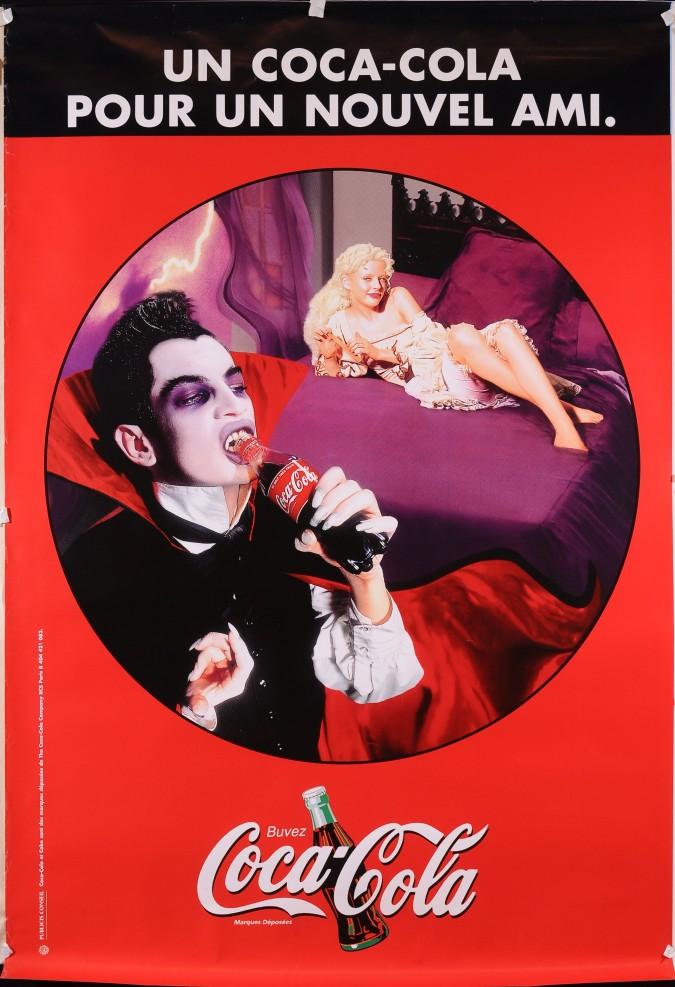 "Original Vintage French Poster for ""Coca Cola"""