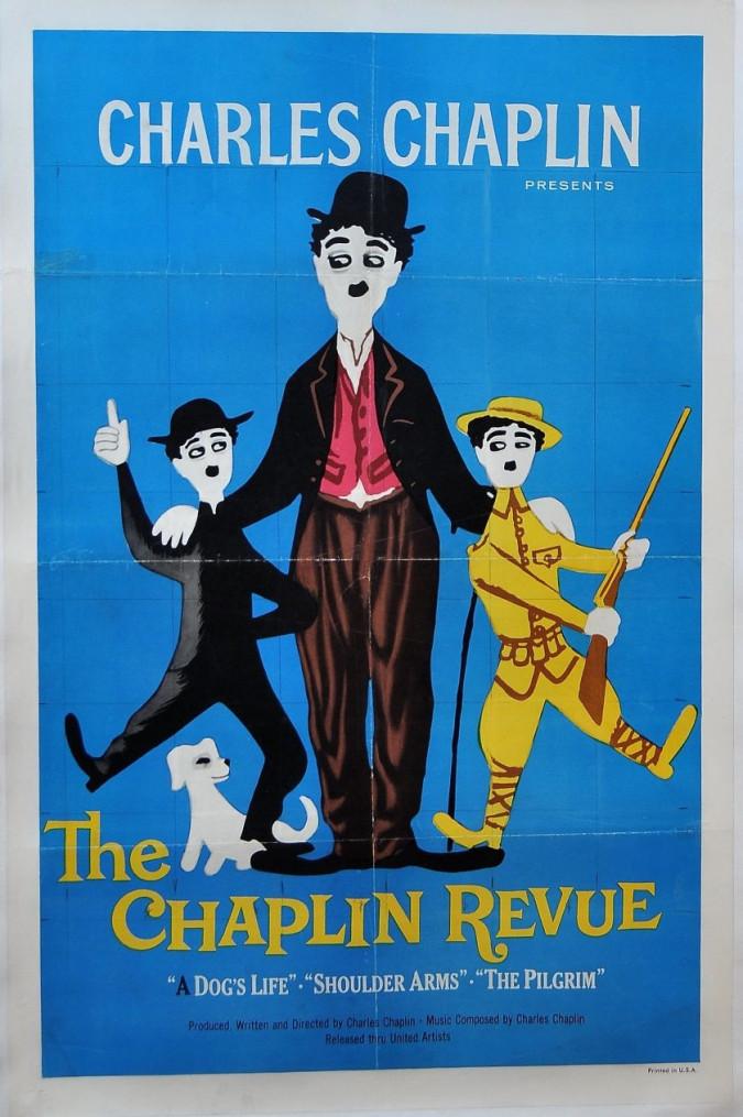 "Original Movie Poster 'The Chaplin Review"""