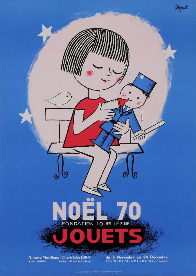 Original Vintage French Poster for NOEL