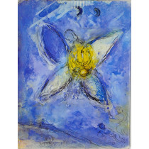 """Original Lithographs """"The Biblical Message"""" by Marc Chagall with Preface by Jean Chatelain"""