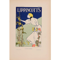 Les Affiches Etrangeres Lippincott's-May Stone Lithograph 1898