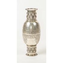 "Set of ""Groom and Bride"" Cups for Kiddush, Silver - Germany, Hanau, Late 19th Century - Rare!"