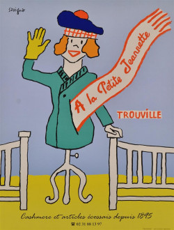 Original Vintage French Advertising Travel Poster