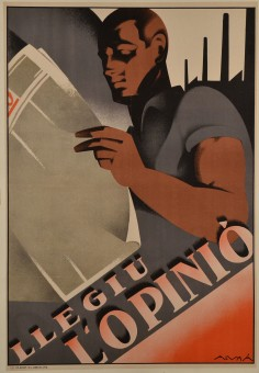 Original Art Deco Poster Advertising