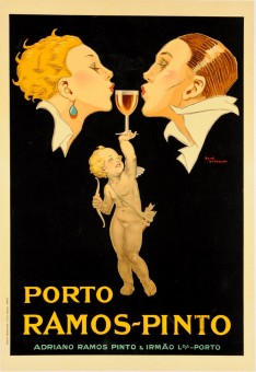Vintage Port Wine Advertising Poster