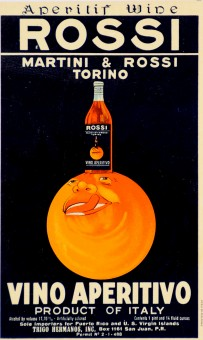 Alcohol Advertising Poster