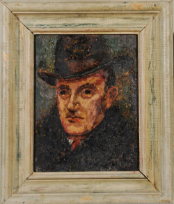 Original Framed Portrait Painting of Edmond Quincy | From the Quincy Estate