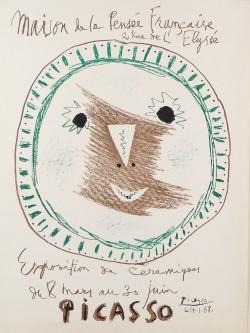 Original Picasso LITHOGRAPHIC POSTER