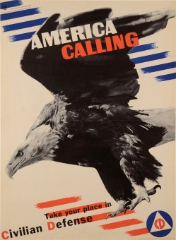 Original Vintage Propaganda Poster
