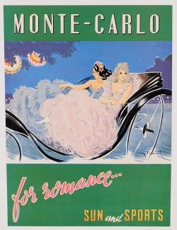 A Sexy Print Advertising Monte Carlo - Sun and Sport
