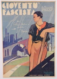 Mussolini Fascist Magazine
