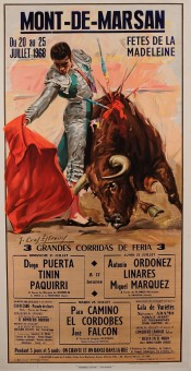 Original Spanish Advertising Poster