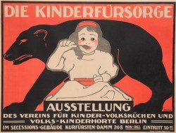 Original Vintage German Poster for
