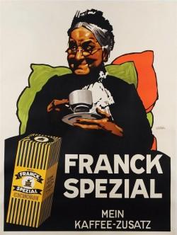Original Vintage German Cafe Poster