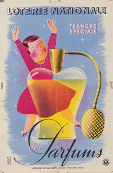 Original Vintage Loterie Nationale Poster