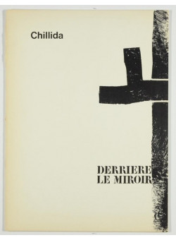 Derriere le Miroir No. 183 1970 Eduardo  Chillida 2 Original Lithographs