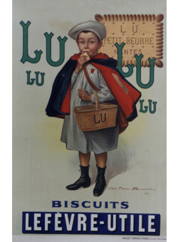 "Original Vintage ""LU LU"" by D'apres Firmin Bouisset"