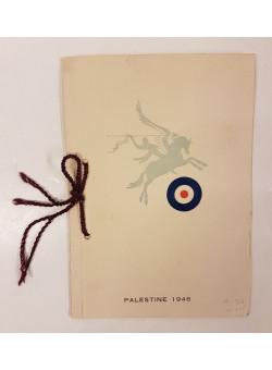 Original HQ 6 Airborne Division Christmas Greeting Card Israel Palestine 1946