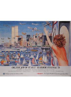 """American Poster """"OH, THE JOY OF IT ALL! HARBOR FESTIVAL '78"""""""
