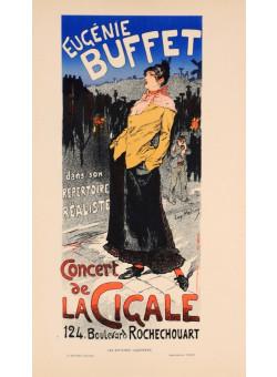 French Lithograph ;Les Affiches Illustrees, Chaix, Paris