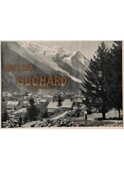 "Original Vintage Swiss Poster Advertising ""Suchard Milka"" Chocolate"
