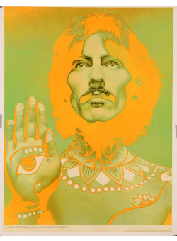 George Harrison Beatles Photographed by Richard Avedon for Look Magazine 1967