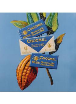 "Original Vintage Swiss Chocolate Poster ""Kohler Chocolat"" ca. 1960"