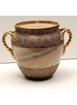French impressive Vase . Turn of the 19th century.