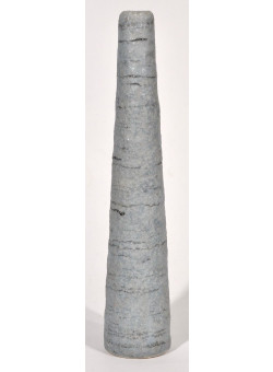 Vintage Decorative Handmade French Tall Ceramic Vase Pre 1930