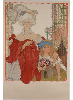 Original Vintage Belgian Exhibition Poster by Fernand Toussaint - before letters