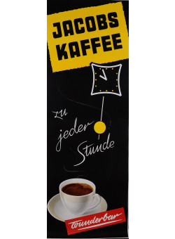 "Original Vintage German Poster Advertising ""Jacobs Kaffee"" Coffee 1950's"
