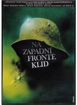 "Original Vintage Czech Movie Poster ""NA ZAPADNI FRONTE KLID"" by Vlach 1979"