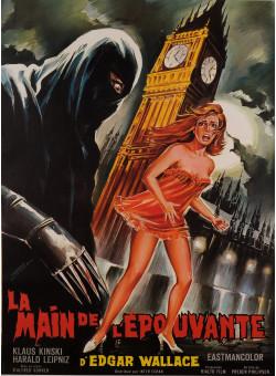 """Original Vintage French Movie Poster """"LE MAIN DE L'ÉPOUVANTE"""" by BELINSKY 1969"""