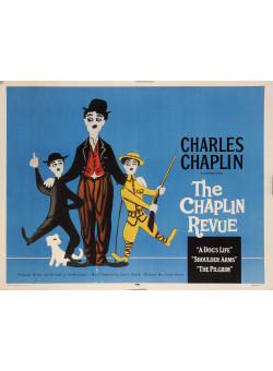"Original Movie Charlie Chaplin Poster ""Charlot Festival."" United Artists"" by Leo Kouper 1959"